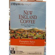 New England Coffee Pumpkin Spice K-Cups, 12 Count (Pumpkin)