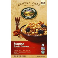 Natures Path Sunrise Crunchy Cinnamon Cold Cereal, 10.6 Ounce - 12 Per Case.