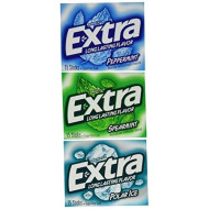 Wrigley'S Extra 20 Pack Sugar Free Gum - Mint Variety Box