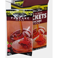 Walden Farms Ready To Serve Pancake Syrup Packets Maple - 24 Oz (2 Boxes)