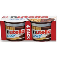 Nutella And Go Hazelnut Spread, 7.3 Ounce - 4 Per Pack - 6 Packs Per Case.