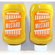 Whataburger Original Mustard - 16 Oz., (Pack Of 2)
