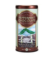 Republic Of Tea, Tea Peppermint Chocolate, 36 Count
