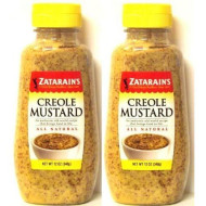 Zatarain'S Creole Mustard 12 Oz (Pack Of 2) By Zatarain'S
