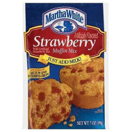 Martha White Strawberry Muffin Mix (Pack Of 4) 7 Oz Bags