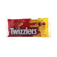 Twizzlers Filled Twists Sweet & Sour Candy Cherry Kick & Citrus Punch 11.0 Oz. (Pack Of 2)