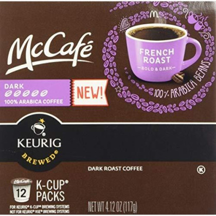 Mccafe French Roast, Dark, 12 K-Cup Packs (Set Of 3)