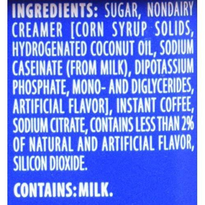 Maxwell House Orange Flavored Cafe Style Instant Beverage Mix, 9.3 Ounce - 8 Per Case.