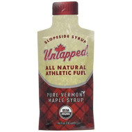 Untapped Maple Syrup Athletic Fuel Maple, Box Of 20 .96 Fl Oz Packets