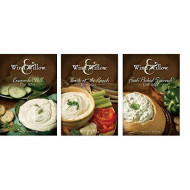 "Wind & Willow Dip Mix Variety Pack - ""Back At The Ranch,"" ""Cucumber Dill,"" & ""Fresh Picked Spinach"""