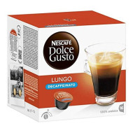 Nescafe Dolce Gusto Pods/ cpsules - Decaf Lungo Coffee = 16 Count (Pack Of 3)