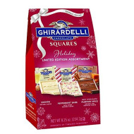 Ghirardelli Limited Edition Holiday Assorted Squares Bag, 8.25 Ounces