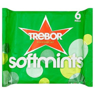 Trebor Softmints Peppermint (6X45G) - Pack Of 2