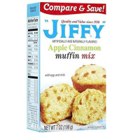 Jiffy Apple Cinnamon Muffin Mix - 7 Oz