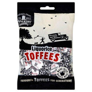 Walkers Nonsuch Liquorice Toffees (150G) - Pack Of 2