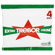 Trebor Extra Strong Peppermint (4 Per Pack) - Pack Of 6