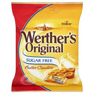 Werther'S Original Sugar Free Butter Candies (80G) - Pack Of 6