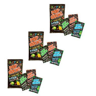 Pop Rocks Popping Candy 3-Pack - Watermelon, Strawperry Tropical Punch (9 Paks Total)