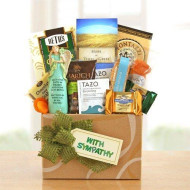 Our Thoughts And Prayers Are With You Sympathy Gift Box