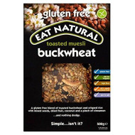 Eat Natural Gluten Free Toasted Muesli Buckwheat (500G) - Pack Of 2