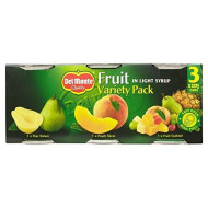 Del Monte Fruit In Light Syrup Variety Pack (3X227G) - Pack Of 2