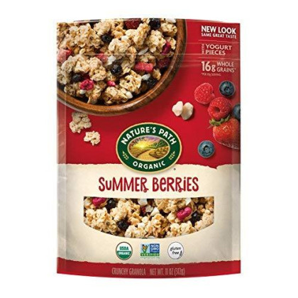 Nature'S Path Gluten Free Granola, Summer Berries, 11 Ounce