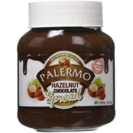 Palermo Hazelnut Milk Chocolate Spread, 12.3 Ounce