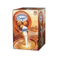 (3 Pack Value Bundle) Itd827965 Flavored Liquid Non-Dairy Coffee Creamer, Hazelnut, 0.44 Oz Cups