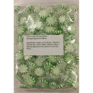 Starlight Spearmint Mints 2 Lbs Bulk Hard Candy Discs Approximately 175 Pieces
