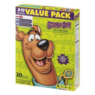 Betty Crocker Fruit Snacks, Scooby Doo Snacks, Value Pack, 20 Pouches, 0.8 oz Each