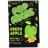 Pop Rocks Popping Candy, Apple, 24 Count