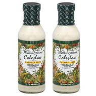 Walden Farms Caloried Free Dressing Coleslaw - 12 Fl Oz (2 Bottles)