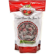 Sweetgourmet Wrapped Filled Raspberries Hard Candy | 1.5 Pounds