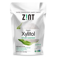 Zint Organic Xylitol Sweetener (16 Oz): Usda Certified Natural Sugar Free Substitute, Non Gmo, Low Glycemic Index, Measures & Tastes Like Sugar