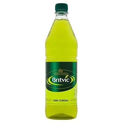Britvic Lime Cordial (1L) - Pack Of 2