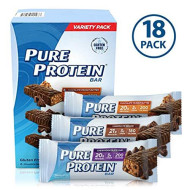Pure Protein Bars, Healthy Snacks To Support Energy, Variety Pack, 1.76 Oz, 18 Count
