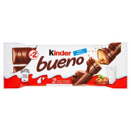 Kinder Bueno (Poland) Milk Chocolate Bar 43G (30-Pack)