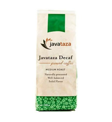 Fairly Traded Javataza Decaf Costa Rica Naturally Shade Grown Roasted Ground Coffee Kosher Certified 12 Oz