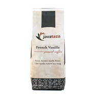 French Vanilla Ground Coffee - Fairly Traded, Naturally Shade Grown Roasted Ground Coffee Kosher Certified 12 Oz
