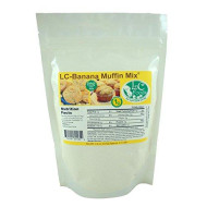 Low Carb Banana Muffin Mix - Lc Foods - All Natural - No Sugar - Diabetic Friendly - 7.6 Oz