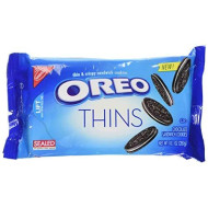 Oreo Thins Sandwich Cookies, 10.1 Ounce 2 Pack