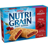 Kellogg'S, Nutri-Grain Breakfast Bars, Cherry, 8 Count, 10.4 Ounce Box (Pack Of 4)