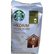 Starbucks Medium House Blend Ground Coffee 12Oz ( Pack Of 6 )