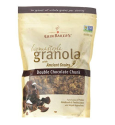 Erin Baker'S Homestyle Granola, Double Chocolate Chunk, 12 Oz