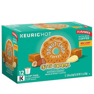 Donut Shop Nutty Caramel Coffee K-Cups, 12 Ct. Box (Retail Packaging)