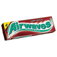 Wrigley'S Airwaves Cherry Menthol - 14G - Pack Of 10 (14G X 10)