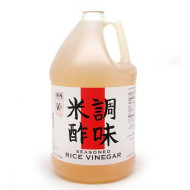 Seasoned Rice Vinegar, All Natural - 1 Gallon
