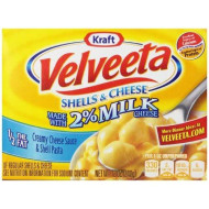 Velveeta Shells And Cheese With 2 Percent Milk, 12 Ounces (Pack Of 12)
