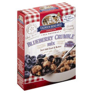 Calhoun Bend Mill Blueberry Crumble Mix 8 Ounces (Case of 6)