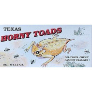 Texas Horny Toads Delicious Chewy Cashew Pralines Gift Box - 12 Oz.